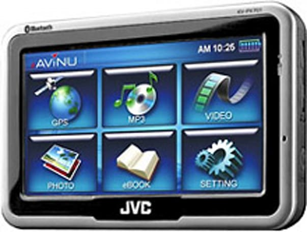 JVC storms back with KV-PX701 / KV-PX501 navigators