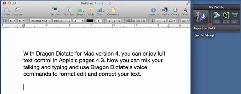 Tell Gmail what to do with the latest Dragon Dictate for Mac