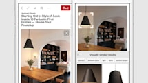 Pinterest's visual search tool can identify items in a pin