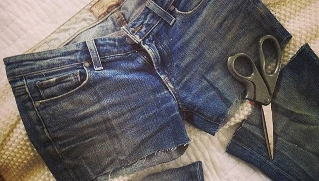Cut It Up: DIY Denim Cutoffs