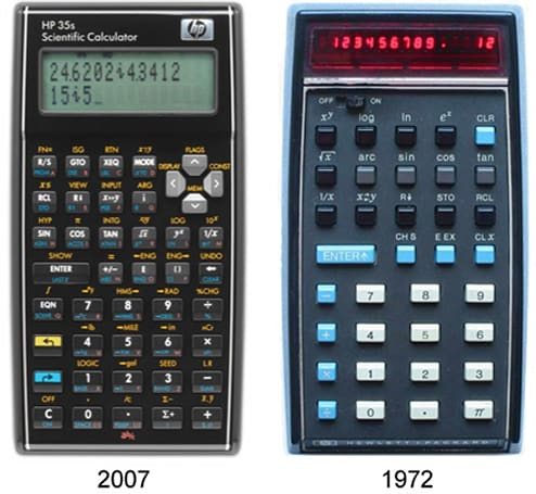 HP celebrates 35th anniversary of HP-35: launches 35s calculator