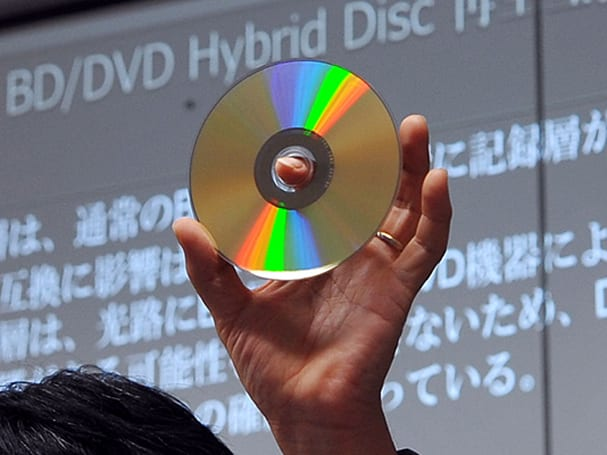 First Blu-ray Disc / DVD hybrid announced in Japan