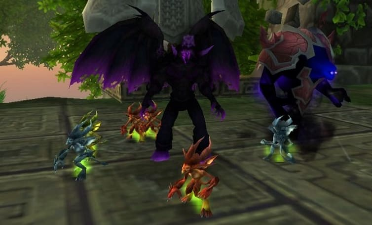Blood Pact: Get our MoP minions and our little felpuppies too