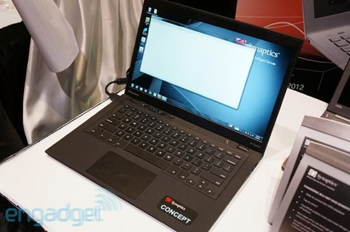 Fingers-on with Synaptics' ThinTouch keyboard for Ultrabooks (video)
