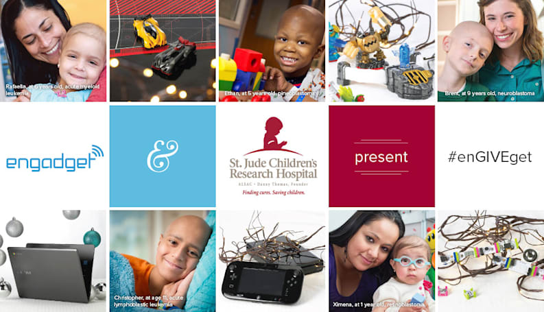 Reminder: Help us build a gadget room for St. Jude Children's Research Hospital!