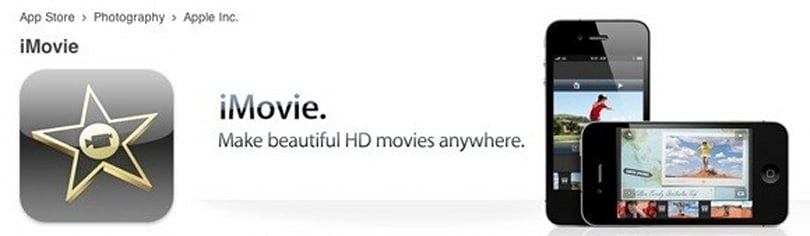 iMovie updated to 1.1, requires iOS 4.1