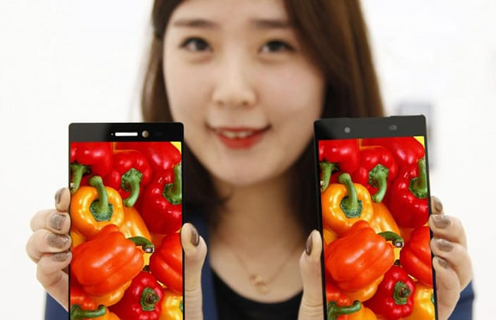 LG slims smartphone bezels to a virtually non-existent 0.7mm