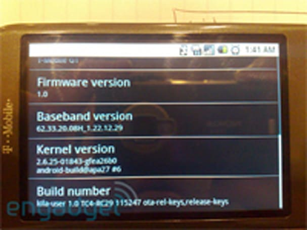 RC29, RC30 G1 Android updates get explained