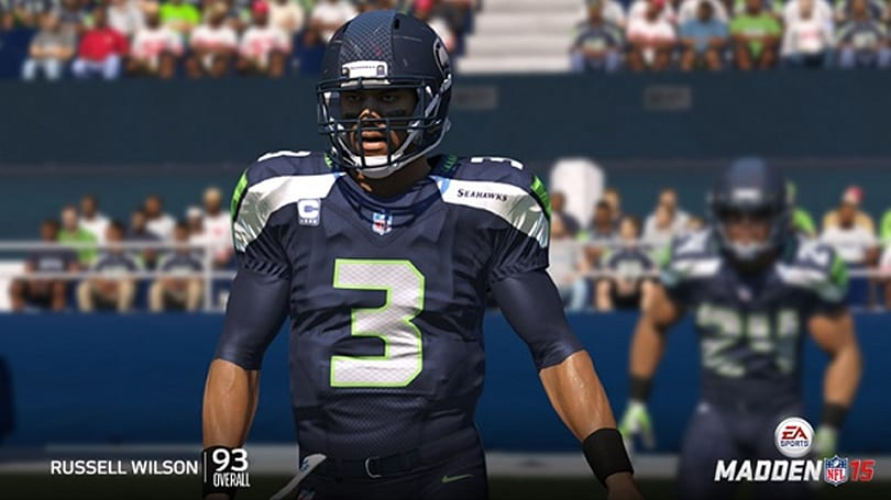 Madden 15 says Russell Wilson is as good as Tom Brady
