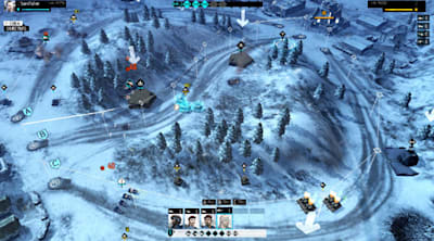 EndWar Online is a free-to-play MOBA-like running in Flash