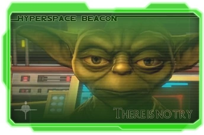 Hyperspace Beacon: There is no try