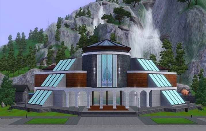 The Sims 3 visits the Hidden Springs DLC