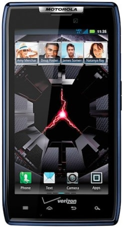 Blue Droid RAZR heading to Verizon on May 17th, Ice Cream Sandwich nowhere to be found