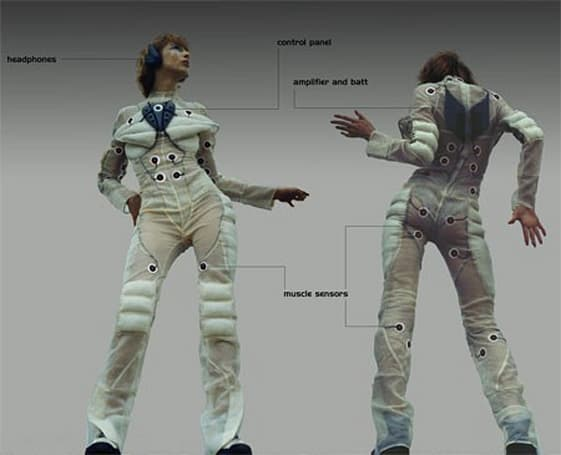 Pacer Suit gives you the perfect excuse for doing the Macarena
