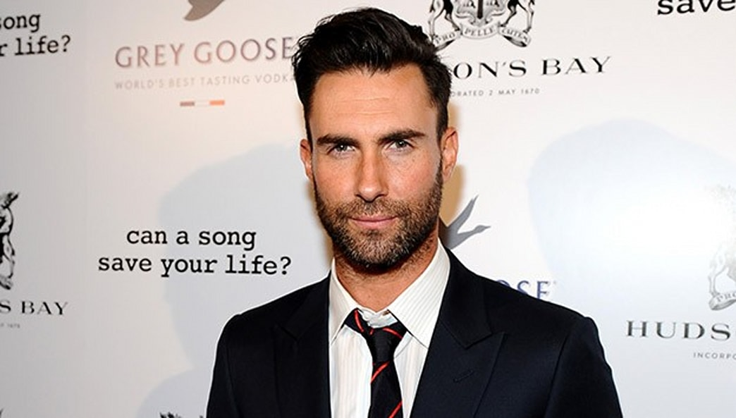 Adam Levine debuts menswear collection at Kmart