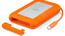 LaCie's popular portable drive adds more convenience and durability