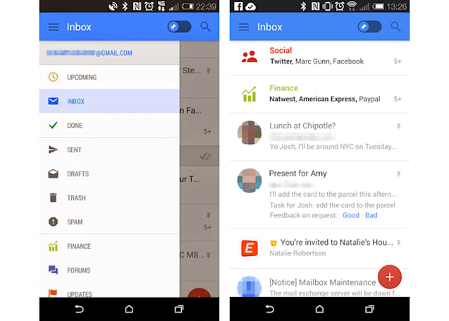 Gmail's mobile app may soon let you snooze and pin messages
