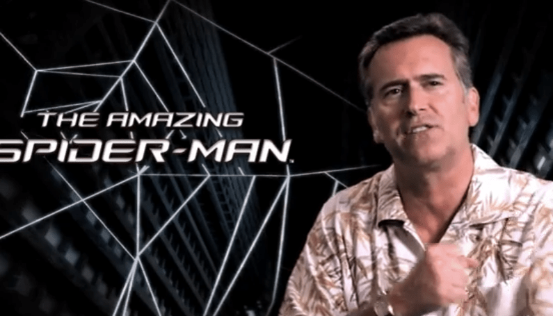 Bruce Campbell is in The Amazing Spider-Man game for some reason