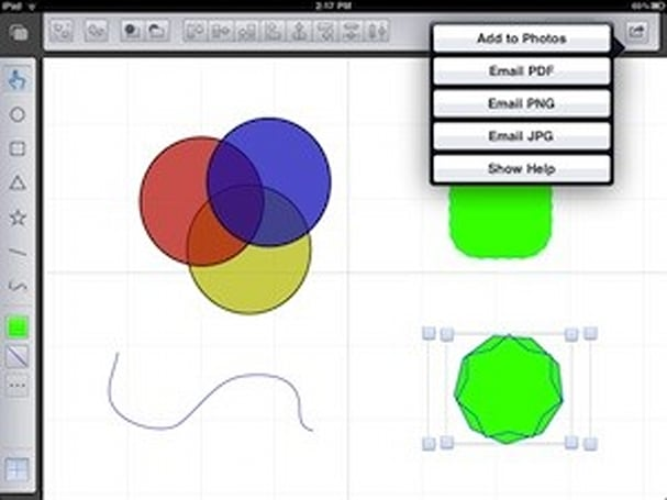 First Look: Freeform vector drawing app for iPad