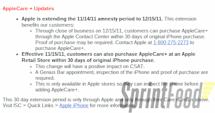 Didn't get the AppleCare+ with your iPhone? Worry not, you now have 30 days to change your mind