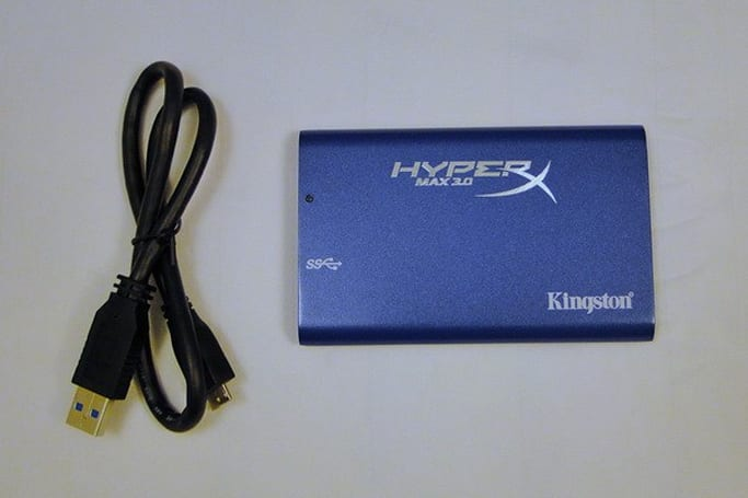 Kingston HyperX Max 3.0 USB 3.0 SSD reviewed, hits ludicrous speeds