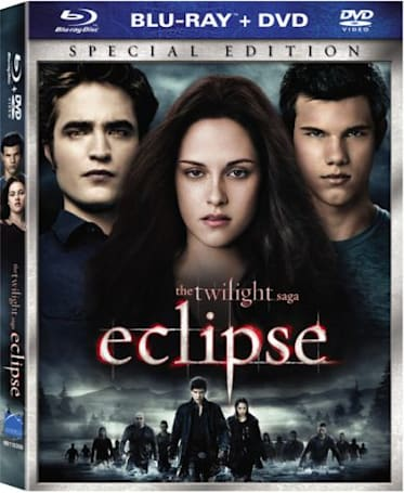 The Twilight Saga: Eclipse Blu-ray release date, box art & exclusive special features revealed