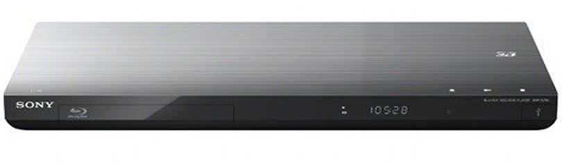 Sony's 2012 lineup of Blu-ray players, one with 4K