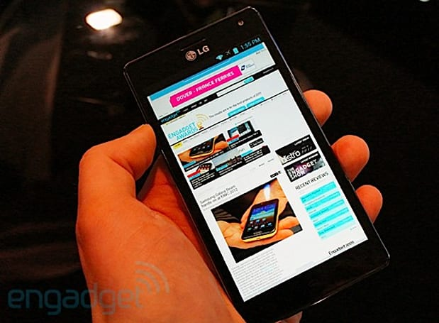 LG Optimus 4X HD hands-on (video)
