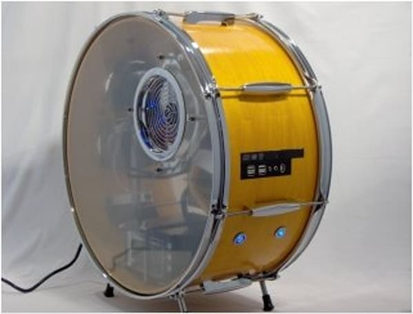 Spotswood drum PC case brings the beat back