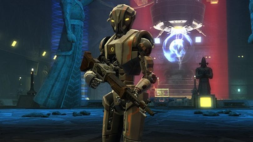 New SWTOR dev diary explores Section X and HK-51