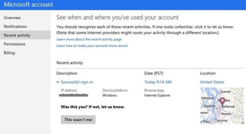 Microsoft accounts now let you flag suspicious activity before it's a problem