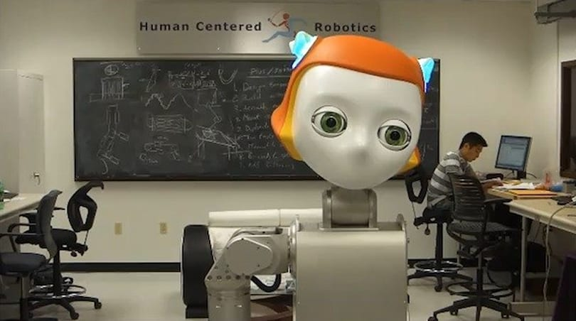 Meka, UT Austin researchers show off 'sociable' Dreamer robot head