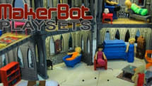 MakerBot releases free-to-download Playsets, will have you printing a Captain Kirk Chair in no time