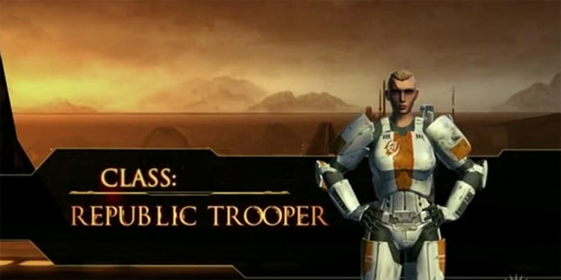 SWTOR Trooper video kicks some serious -- shut yo mouth!