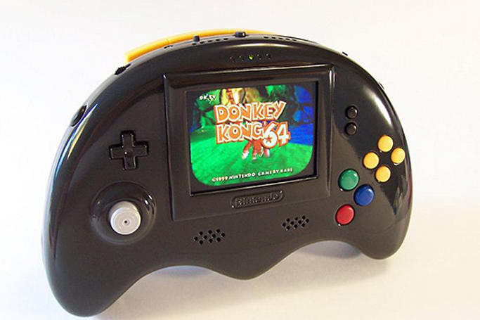 Portable N64 mod boasts internal memory, analog stick, real cartridges