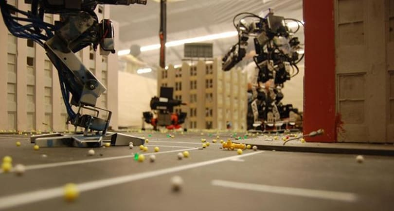 Insert Coin: Help some dudes make a robot fighting ring