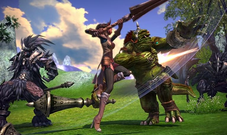 TERA unveils race and class series, world lore