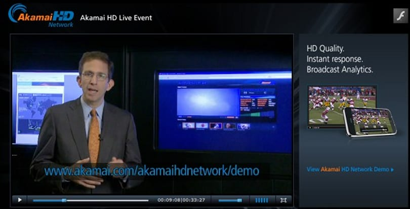 Akamai HD network launches, streaming Flash and Silverlight HD to the incredibly bored masses
