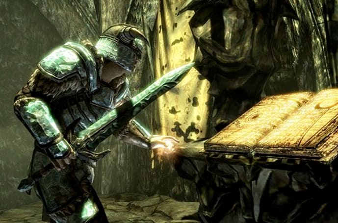 Prepare for Skyrim Dragonborn DLC on PS3 with update 1.8 today
