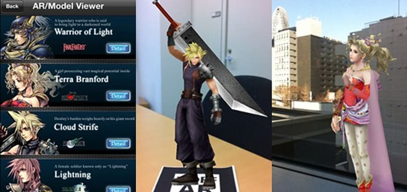 Square gets in on AR with Dissidia [duodecim] iOS app