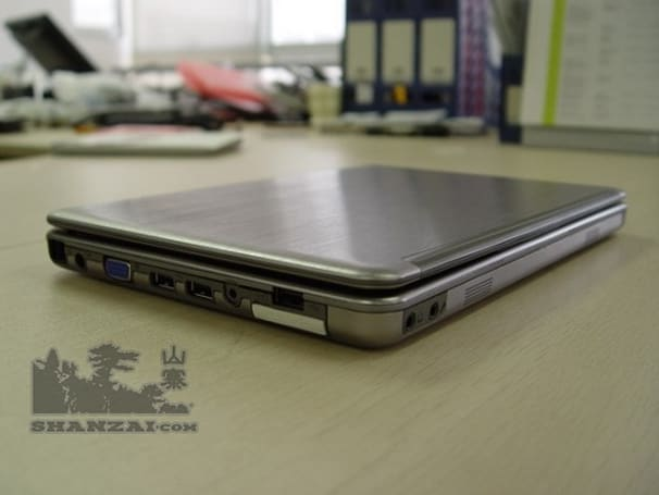 Sheng T108 brushed aluminum netbook appears