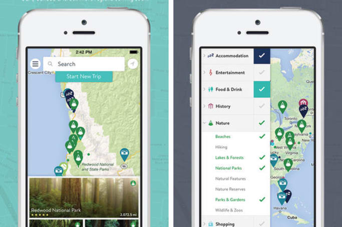 Daily App: Use RoadTrippers to plan your next adventure