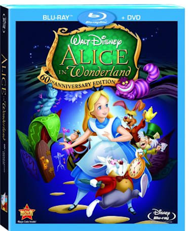 Disney posts Alice in Wonderland 60th Anniversary Blu-ray trailer