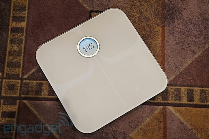 Fitbit's Aria WiFi scale tracks weight, BMI and body fat percentage (hands-on)