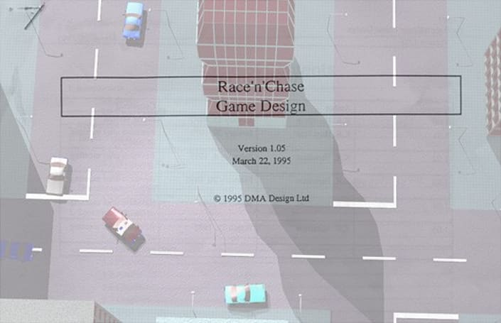 Race'n'Chase: Original GTA design docs posted