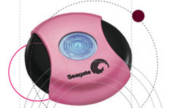 Seagate Pink Pocket hard drive, a way to support breast cancer research
