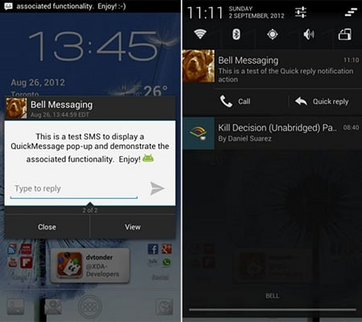 CyanogenMod tops up CM10 Jelly Bean jar with SMS pop-up, quick reply features