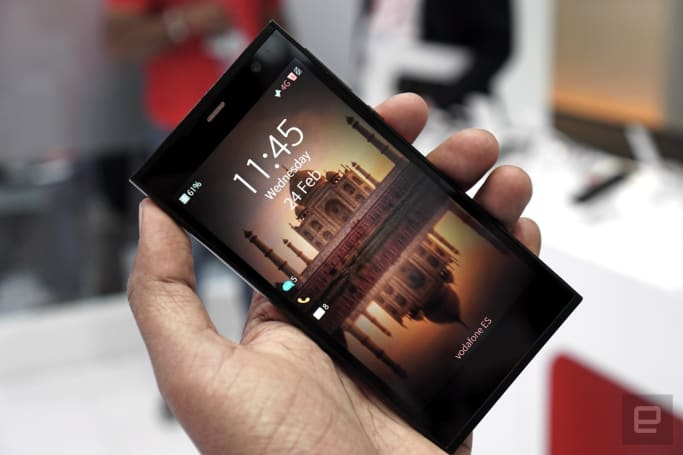Jolla's 'Aqua Fish' phone quietly surfaces at MWC
