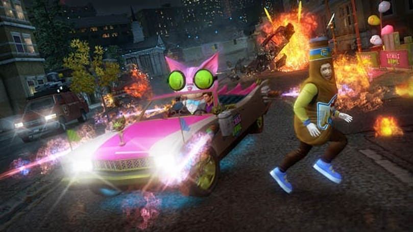 Saints Row: The Third's Genkibowl VII DLC is just as batshit crazy as you'd expect