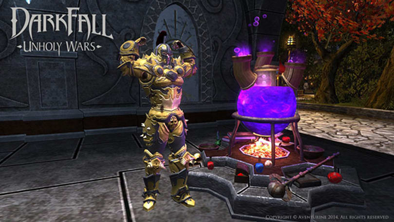 Darkfall getting armor dyes